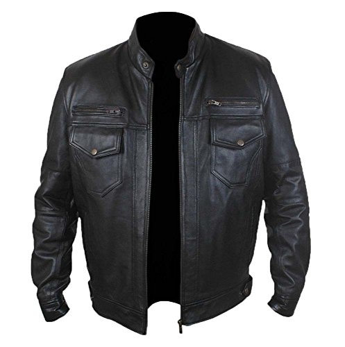 Stylish Superb Genuine Leather Bomber