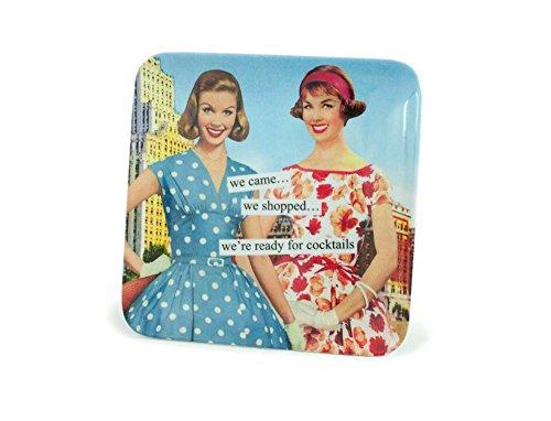 Anne Taintor Melamine Mini Tray, We Shopped ()
