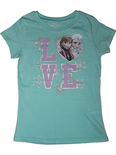 Disney's Frozen Girls LOVE T-shirt Sizes 2T-16