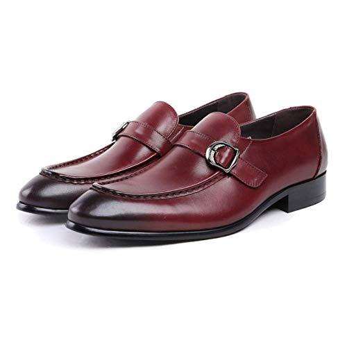 a6c608a47 Pequeño De Tamaño Trabajo Hombres Pies Boda Zpedy Reddishbrown 37 Cuero  Para Zapatos Juegos Grandes Vestir Piezas Ropa Negocios S56w4pqZ
