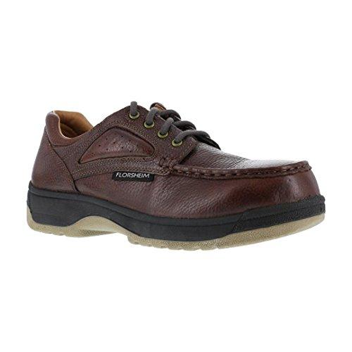 Florsheim Work Men's FS2400 Steel-Toed Work Boot,Dark Brown,12 3E US by Florsheim