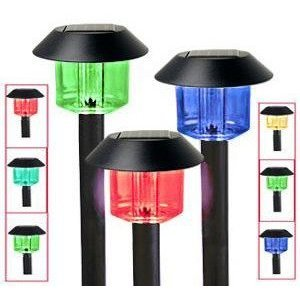 Garden Light Solor Light Garden Lighting Color changing Solar