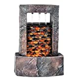 Best HP Indoor Fountains - 10.25-inch H Table Fountain with Light Review