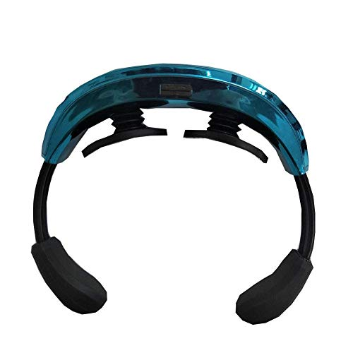 WSJTT Neck Massager,Neck Massager Rechargeable Cervical Massager Cervical Physiotherapy Instrument,Wireless 3D Travel Massager (Color : A)