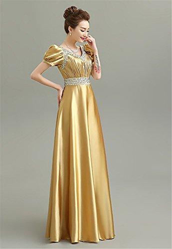 Drasawee Kleid Empire Damen Gold Drasawee Empire Drasawee Drasawee Damen Damen Gold Gold Kleid Empire Kleid 5AqOaHA