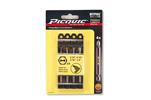 PICQUIC 95010 Clutch Set 3/32, 5/32, 3/16, (Clutch Screwdriver)
