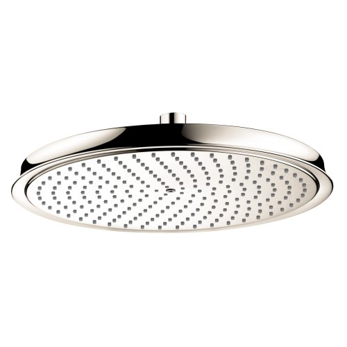 - Hansgrohe 28428831 Raindance C 300 1 Jet Showerhead, Polished Nickel