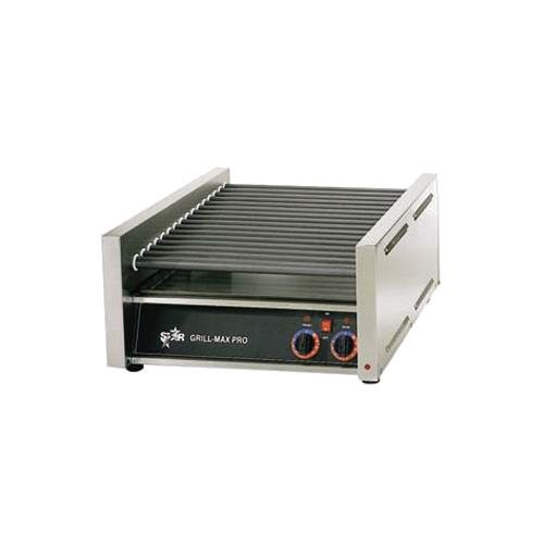 Star Manufacturing 45SC Grill-Max Pro Hot Dog Grill w/Duratec Rollers