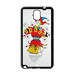 Christmas Gifts Custom Cool Joker Snap On Protection TPU Case Cover For Samsung Galaxy Note 3
