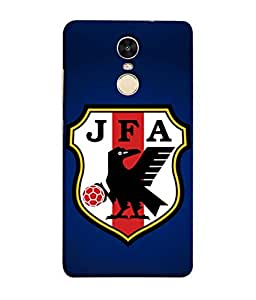 ColorKing Football Japan 06 Blue shell case cover for Xiaomi Redmi 5