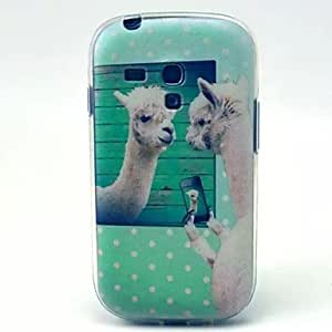 GDW Teléfono Móvil Samsung - Cobertor Posterior - Gráfico/Diseño Especial - para Samsung S3 Mini I8190N ( Multi-color , TPU )