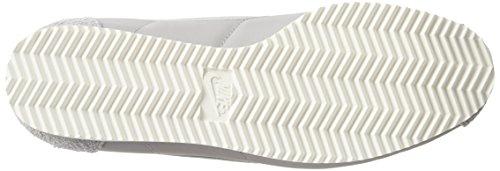 Zapatillas Nike �?Classic Cortez Nylon Prem gris/plateado/blanco