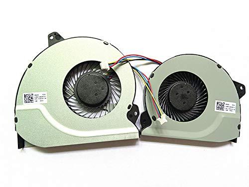 HK-Part Fan for ASUS ROG GL702VMK GL702VML GL702VM CPU + Gpu Cooling Fans