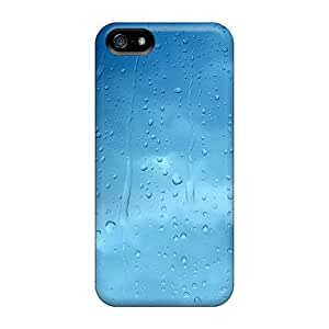New Arrival Iphone 5/5s Cases Blue Water Droplets Cases Covers