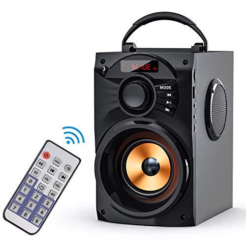 EIFER Bluetooth Speakers Portable Bluetooth Speaker Wireless Loudspeakers Subwoofer TWS Paring Remote Control FM Radio…