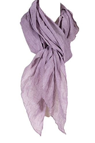 Cotton Solid Color Wrinkle Linen Scarf Scarf Multi Color Beach Scarf