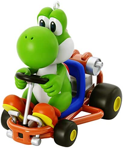 Hallmark Keepsake Christmas Ornament 2020 Nintendo Mario Kart Yoshi