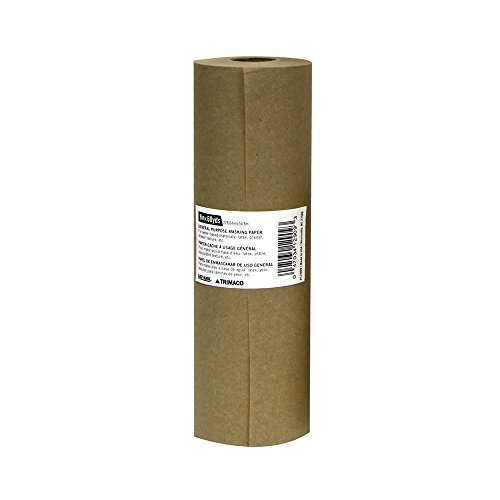 9-inch x 180-feet Brown General Purpose Masking Paper