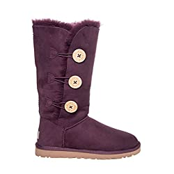 UGG Australia Women's Bailey Button Triplet Sheepskin Boot