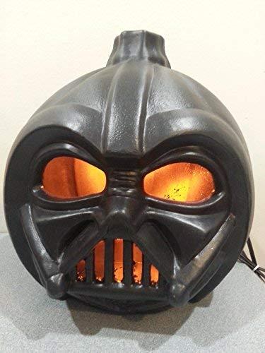 Star Wars Darth Vader Light Up Pumpkin Halloween