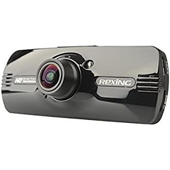 """REXING F9US Version 2.7"""" LCD FHD 1080p 170 Degree Wide Angle Car Dashboard Camera Recorder Dash Cam with G-Sensor, WDR, Motion Detection"""