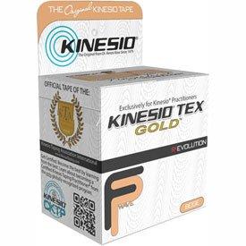 Kinesio174; Tex Gold FP Kinesiology Tape, 2'' x 5.5 yds, Beige, 6 Rolls by Kinesio