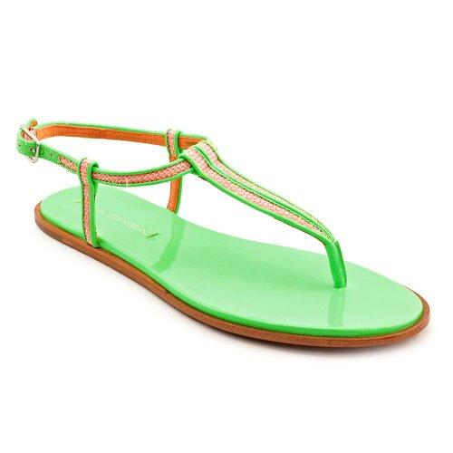 Sandalias Mujer Cynna De Spiga Verde Para Neón Lona Via PwRSqFTP