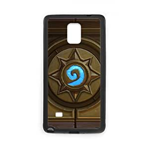 Samsung Galaxy Note 4 Cell Phone Case Black Hearthstone Heroes Of Warcraft Popular Games image KOL5039902