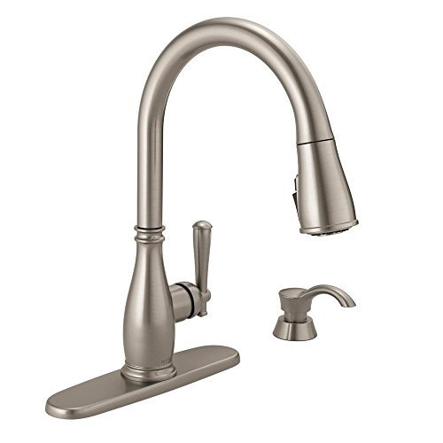 Charmaine Single-Handle Pull-Down Sprayer Kitchen Faucet - Delta 19962Z-SSSD-DST