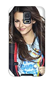 5953522K51717532 Awesome Defender Tpu Hard Case Cover For Galaxy S5- Victoria Justice