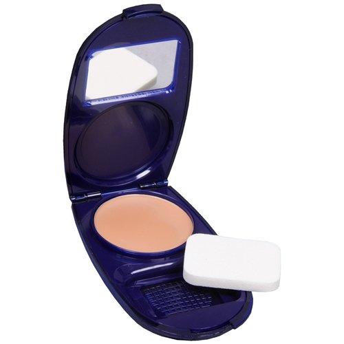 CoverGirl Aqua Smooth AquaSmooth Compact Solid Foundation, Buff Beige 0.4 oz