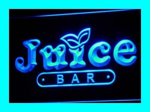 Juice Bar Led Sign - ADV PRO i084-b OPEN Juice Bar Cafe Restaurant Neon Light Signs