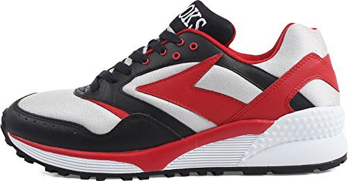 Brooks Banshee Chaussures - Patrimoine Black/True Red/Lunar Rock ElIc8f