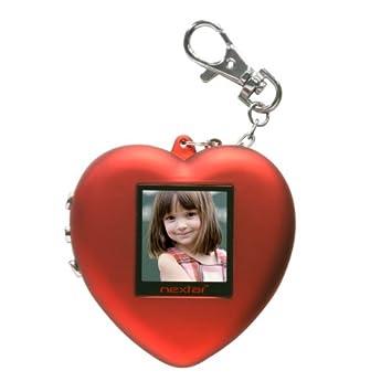 Nextar N1-506 - Llavero Digital (3,8 cm), diseño de corazón ...