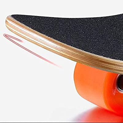 HNaGRDMMP Complete Mini Cruiser Skateboard Longboard with 7 Layers Maple Extreme Sports Skateboards for Kids Girls Boys Adults Youths Beginners and Professionals (Color : B) : Sports & Outdoors