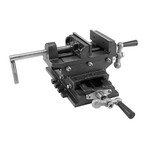 6'' Cross Drill Press Vise Slide Metal Milling 2 Way X-Y Clamp Machine Heavy Duty -fully adjustable by Unknown