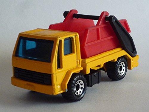 Skip Truck (MATCHBOX 1989 MB70-E Ford Cargo Skip Truck (Yellow / Red Dump))