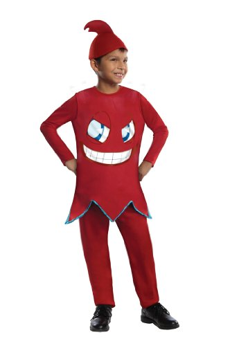 Pacman Blinky Costume (Pac-Man and The Ghostly Adventures Deluxe Blinky Costume, Large)