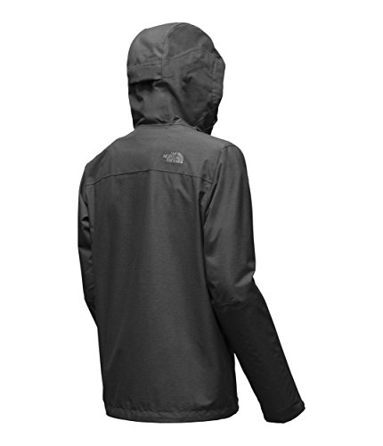 The North Face Men's Venture 2 Waterproof Jacket Dark Grey Heather Size Xl New