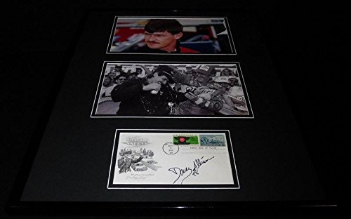 Davey Allison Signed Photo - Framed 16x20 Set - Autograph...