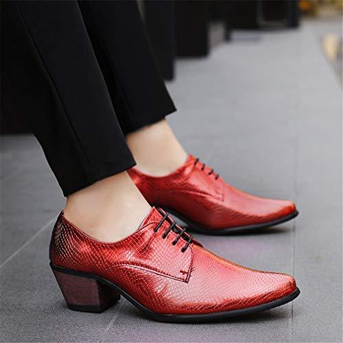 Otoño Segundo de y de Hombre Acentuado Moda de Cuero de de Confort Zapatos Noche de Boda YAN Novedad Zapatos Invierno Vestir Formales 2018 Fiesta Zapatos de Zapatos Negocios pAZwRnCq