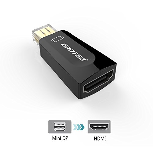AROTAOMiniDisplayPorttoHDMI Adapter,1080P Gold Pla