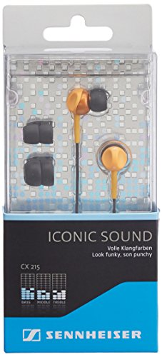 Sennheiser CX 215 Earphones Orange product image