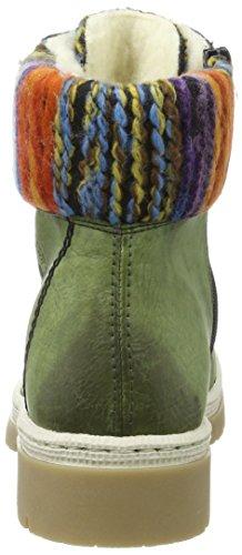 Y9432 Rieker Leaf Stivali Verde Donna multi Orange dqPvSRqrnw