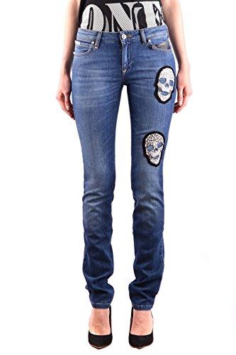 Philipp Plein Femme MCBI237031O Bleu Coton Jeans