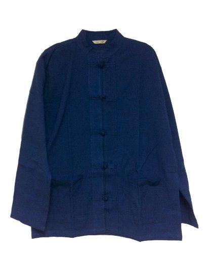 Mens Tai Chi/kungfu/chinese Style Jacket (Large, - Mens Jacket Chinese