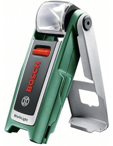 Bosch Linterna a batería WorkLight, cargador (3,6 V, 140 g ...