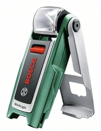 Bosch Linterna a batería WorkLight, cargador (3,6 V, 140 g)