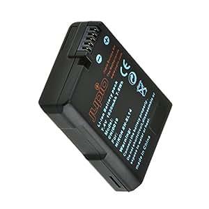 Jupio CNI0019V2 - Batería para cámara digital, equivalente a Nikon EN-EL14, 1030 mAh