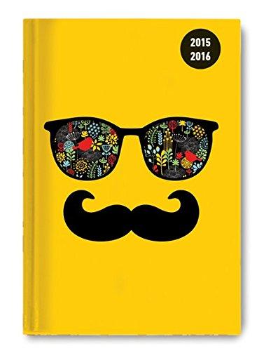 Collegetimer Sunglasses 2015/2016 - Schülerkalender A5 - Weekly - 224 Seiten